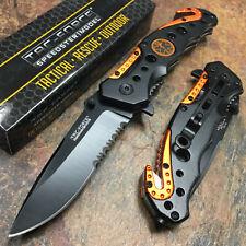 Tac Force Spring Assisted Emergency Rescue Handle Speedster Model Pocket Knife