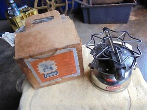 RARE 1951 COLEMAN GASOLINE PORTABLE STOVE/BOX AND PAPERS