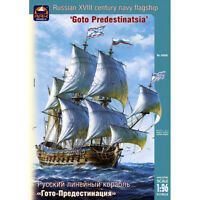 Scale 1:96 Gott Praedestinatio Russian 18 Century Navy Flagship Model Kits