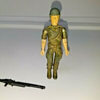 GI Joe Machine Gunner Rock 'n Roll Action Figure 1982 Vintage Toy FC