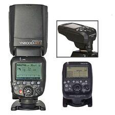 Yongnuo YN-E3-RT Transmitter + YN 600EX-RT II TTL Speedlite Flash For Canon US
