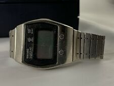 Seiko Quartz LC Digital Chronograph Vintage 0634-5009 For Parts Or Restore