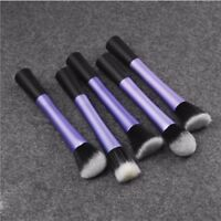 5Pcs Kabuki Contour Soft Cosmetic Tool Makeup Blush Brush Powder Foundation