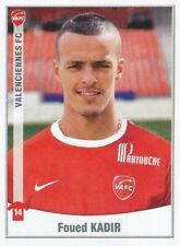 517 FOUED KADIR ALGERIE VALENCIENNES.FC  STICKER FOOT 2011 PANINI