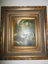 "Rocky Creek Museum Quality ""Masters Style"" Reproduction Oil Painting 8X10"