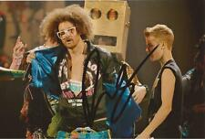 LMFAO: REDFOO SIGNED 6x4 ACTION PHOTO+COA *SEXY AND I KNOW IT* *PARTY ROCK*