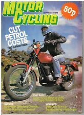 M'cycling Sep 1979 Suzuki GS425 Cagiva SST 350 Ivan Mauger KH125 Ducati Service