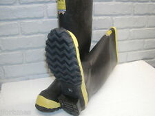"""2144 Ranger  16"""" nominal  Safety Toe Rubber Knee Boot ASTM F2413-05 Made in USA"""