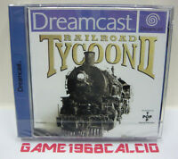 RAILROAD TYCOON II - RAILROAD TYCOON 2 - SEGA DREAMCAST PAL - BRAND NEW SEALED