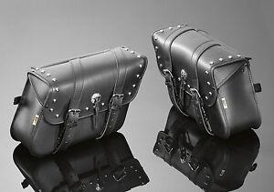 YAMAHA XVS 650 & XVS 1100 DRAG STAR Saddlebags, Pannier bags, Panniers (02-2613)