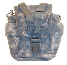 New ACU Digital Canteen Carrier Molle Utility Pouch Military Issue 1 Qt. Carrier
