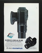 F147 - Advertising Pubblicità - 1992 - OLYMPUS IS 1000 ALL IN ONE