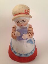 Hershey Kisses Collectible Bell Advertising Chocolate Foods Baker Lady Vintage