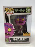 NEW Funko Pop #344 Rick & Morty Scary Terry EXCLUSIVE Vinyl Figure FP20