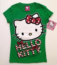 NWT HELLO KITTY T-Shirt GIRLS 4/5 Glitter Tee Sanrio ~ So Cute!