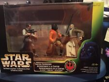 Star Wars Power of the Force Cantina Showdown MISB TRI-LOGO FOREIGN Box Obi-Wan