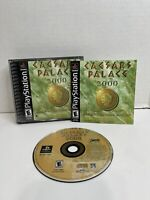PS1 CAESARS PALACE 2000 MILLENNIUM GOLD EDITION PLAYSTATION CIB & TESTED