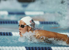 OLD SPORTS PHOTO SWIMMING Tracy Caulkins Of The United States