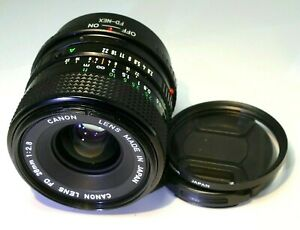 Canon 28mm f2.8 FD Lens adapted to Sony E mount cameras α6300 α6000 α6500