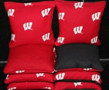 All Weather University of Wisconsin Badgers Cornhole Bean Bags Waterproof