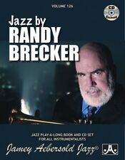 Jamey Aebersold - Randy Brecker [New CD] With Book