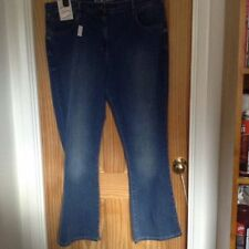 Marks and Spencer Cotton Faded Regular Size Jeans for Women
