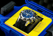 Invicta Mens Reserve Bolt Chronograph Ronda Z60 Abalone Blue Dial SS Watch 26195