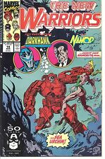 Marvel #014 - Aug 91 - The New Warriors - 5.0 - Used