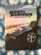 Fast & Furious 8-Movie Collection 9-Disc DVD Set - Free USPS Shipping