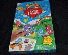 Vtg 90's CARE BEARS Plastic Stickers PRESTO MAGIX Stick 'N Lift Rose Art NIB