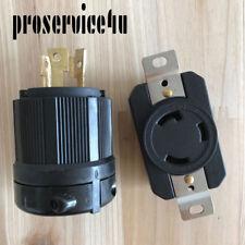 NEMA L5-30P L5-30R 30A 125V Twist Lock Electrical Plug Connector Male Female