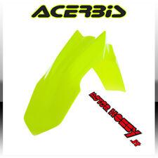 PARAFANGO ANTERIORE ACERBIS HONDA CRF 250 - 450 GIALLO FLUO FRONT FENDER YELLOW