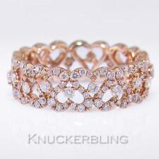 Wedding Not Enhanced Rose Gold Fine Rings