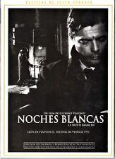 Luchino Visconti: NOCHES BLANCAS. España tarifa plana envíos DVD: 5 €.