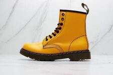 Fashion Dr. Martens Women's Shoes 1460 8 Eye Leather Yellow Boots
