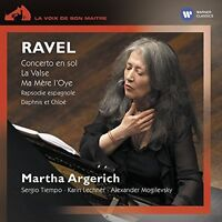 Martha Argerich - Ravel Concerto en sol La Valse [CD]