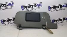 2000 NISSAN MICRA SUN VISOR RIGHT SIDE RHD DARK GREY COLOUR