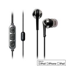 Scosche Increased Dynamic Range Noise-Isolation Earphones with tapLINE II Remote