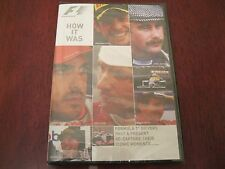 """F1 DVD """"HOW IT WAS"""" - BRAND NEW SEALED BOX - ICONIC F1 MOMENTS Great Gift"""