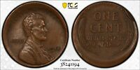 1918 1C PCGS X40 Mint Error 3% Off- Center -RicksCafeAmerican.com