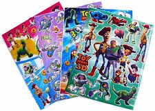 TOY STORY WOODY BUZZ STICKERS PARTY LOOT BAG FILLERS GAME PRIZE - PACK OF 4