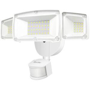 Motion Sensor Lights Super Bright, Outdoor Waterproof LED Light For Garden Patio