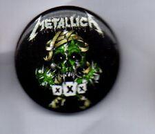 METALLICA  XXX BUTTON BADGE  AMERICAN HEAVY METAL BAND   25mm PIN