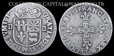1/4 Ecu du Béarn Louis XIII 1610 Frappé à Morlaas TTB++