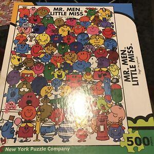 Mr Men Little Miss  500 Piece Puzzle