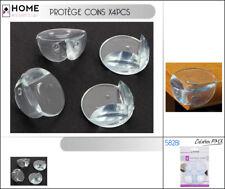 ProtectIon Protège Coin transparent x 4 Table Meuble sécurité Enfant Bébé