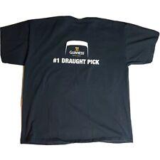 New listing Guinness #1 Draught Pick Tshirt Gildan Xl Black