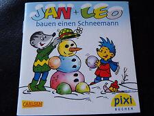 Pixi Sonderausgabe Adventskalender 2012 Jan + Leo bauen einen Schneemann