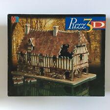 PUZZ 3D NORMANDY HOUSE 225 pcs MILTON BRADLEY foam puzzle instructions complete
