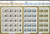 Liechtenstein Kleinbögen MiNr. 821-23 postfrisch MNH Landschaft (821